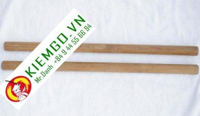 doan-con-cam-xe đoản côn gỗ căm xe được làm từ gỗ căm xe tây nguyên việt nam, gỗ chắc chắn, bền, vân thớ gỗ thẳng, màu vàng đậm, gia công chuẩn sắc nét