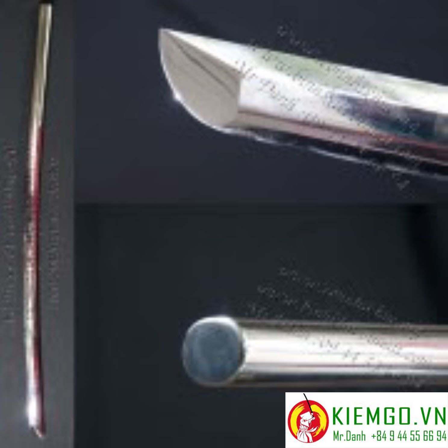 bokken-inox | kiếm inox tập kendo | bokken bằng inox là một thanh kiếm dùng trong tập luyện kendo - iaido - aikiken được chế tác từ inox 304 chất lượng